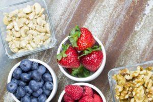 Study breaks with healthy snacks