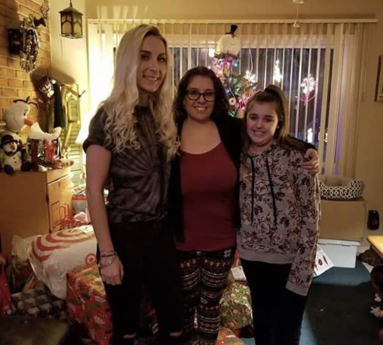 Mikayla Azbell and family