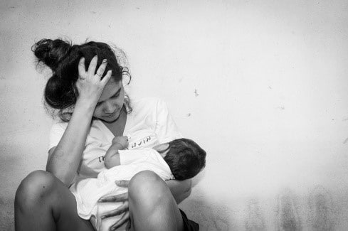 Teen parent struggling to get by
